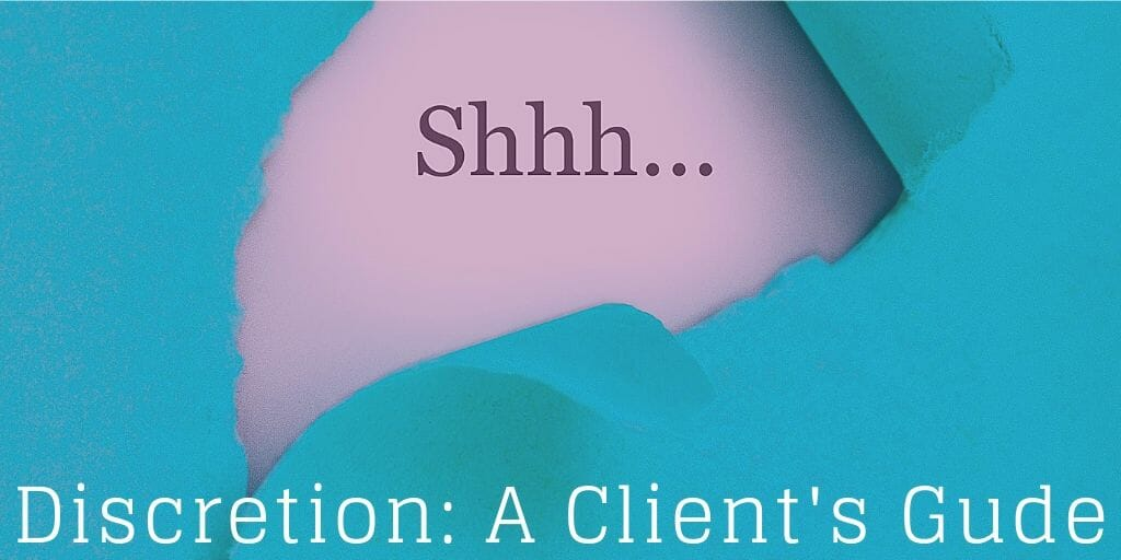 Discretion – A Client Guide