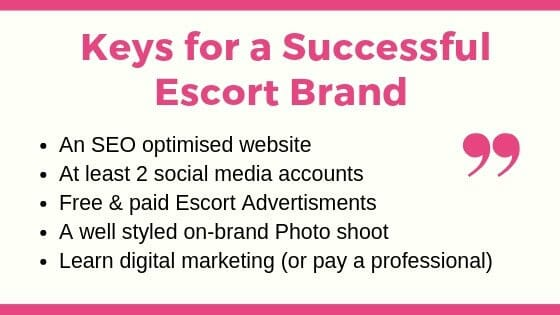 Escort Brand: Finding your Escort Niche 2
